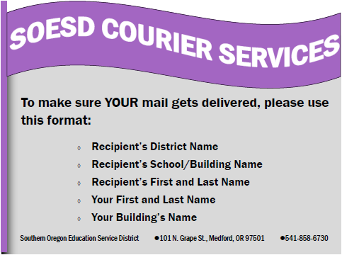 Courier Services Flyer